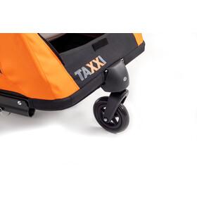 s'cool taXXi Pro Cykelanhænger til to, orange